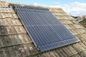 Solar thermal tubes