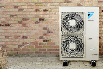 Twin fan unit