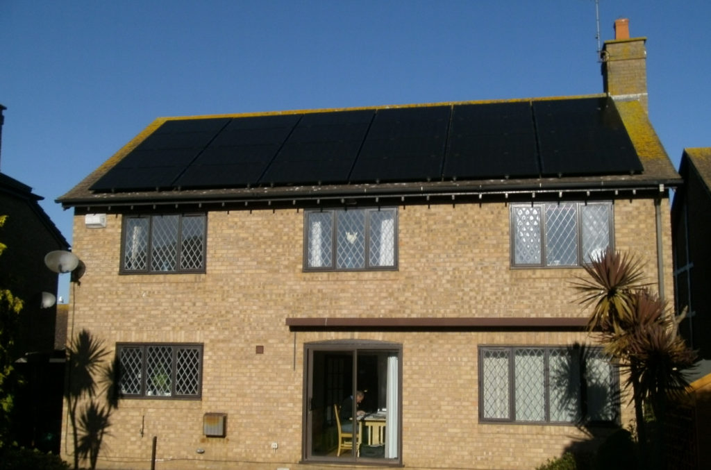 Solar PV panel arrays Solar tiles flat roof systems MCS