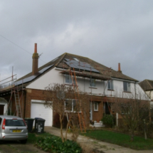 Gallery of PV Solar array installations in Canterbury Whitstable Ashford