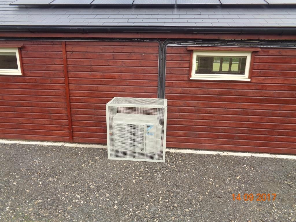 Faversham PV Solar Panel and Bluevolution Heat Pump Installation