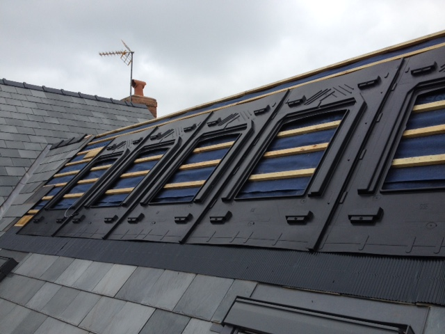 GSE integrated roof system